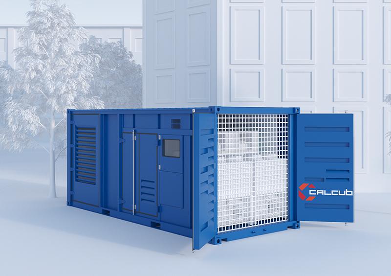 container-groupe-électrogène