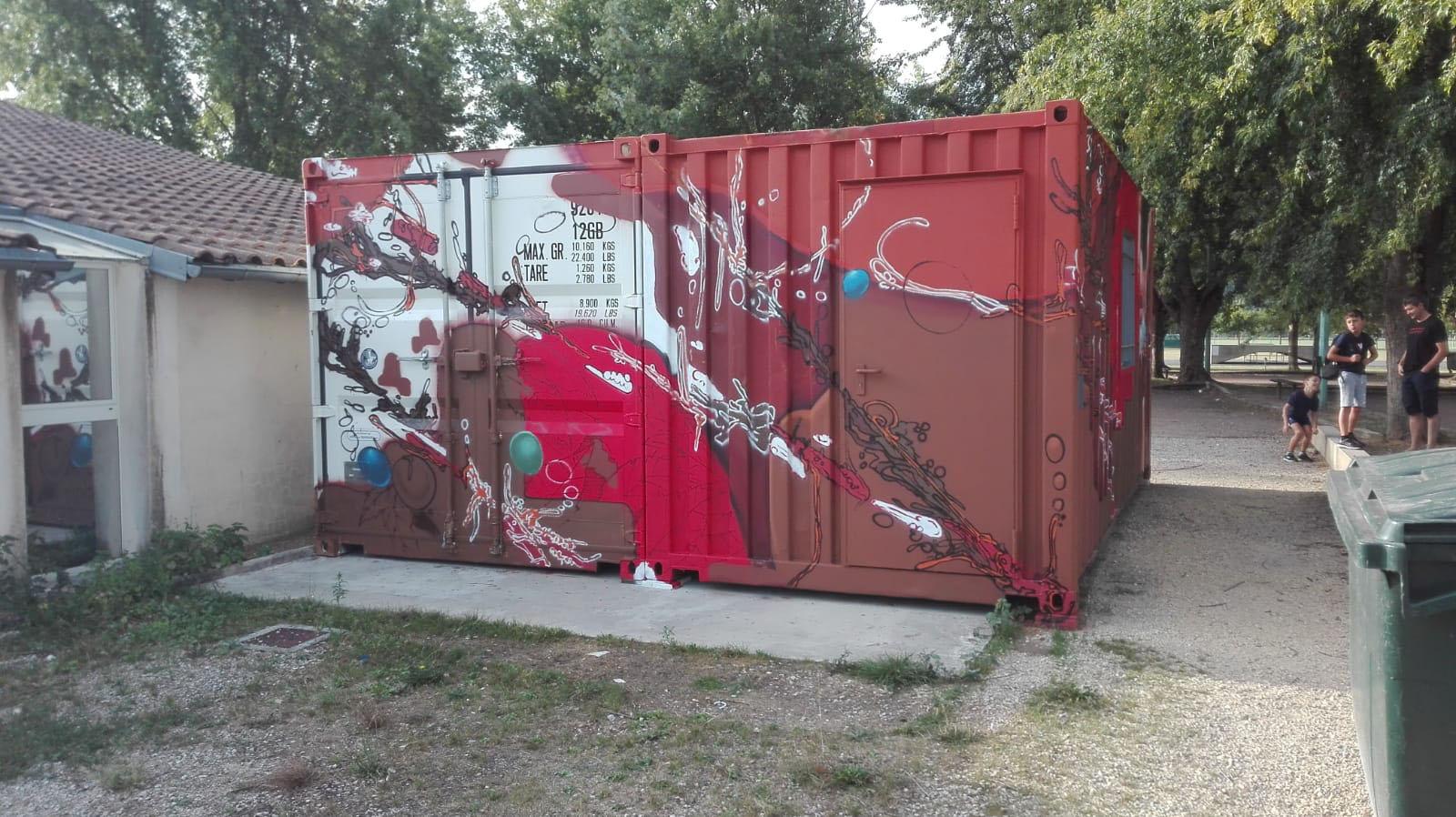 graffiti-container